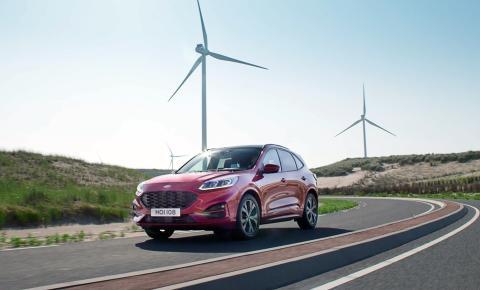 Der neue Ford Kuga: Kraftstoffverbrauch und CO2 -Emissionen um über 30 Prozent gegenüber Vorgänger reduziert